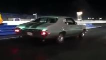 La partenza super di una Chevy Chevelle