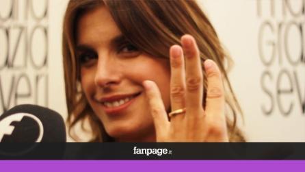 """Elisabetta Canalis: """"Dopo il matrimonio vendo il mio abito da sposa"""""""