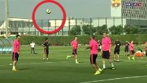 Con Messi il pallone non cade mai a terra