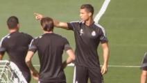 """Real Madrid, Cristiano Ronaldo """"caccia"""" James Rodriguez dal suo gruppo"""