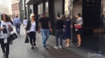 Wanda Nara e Mauro Icardi fanno shopping insieme a Milano