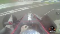 Super Formula 2014. brutto incidente per Karthikeyan ex pilota di Fornula 1