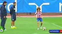 Il figlio di Simeone prende in giro Cristiano Ronaldo