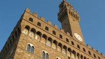 Maltempo a Firenze, infiltrazione anche a Palazzo Vecchio