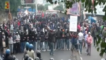 Block Bce, gli scontri visti dalla telecamera della polizia