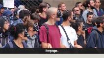 Block BCE, i giovani in marcia contro l'austerità