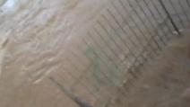 Maltempo, a Morena straripa il fiume: allagati strade e scantinati