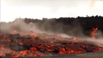 Spettacolare eruzione in Islanda: fuoriesce la lava dal vulcano Holuhraun