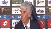 """Genoa sconfitto nel derby con la Samp, Gasperini: """"Il gol di Gabbiadini era da annullare"""""""