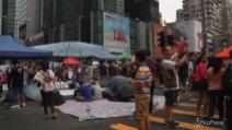 Hong Kong, non si arrestano le proteste nel giorno della Festa nazionale cinese