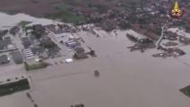 Alluvione ad Alessandria, le immagini dei vigili del fuoco