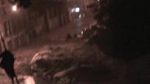 Alluvione a Genova, esonda il Fereggiano