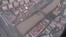 Alluvione Genova, gli interventi dei Vigili del Fuoco