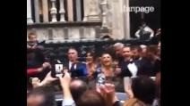 """Ilary Blasi, la Toffanin e Alvin al matrimonio di Michelle Hunziker: """"Gridate Italia Uno"""""""