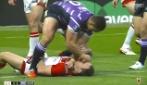 Rugby, giocatore perde la testa e rifila due pugni ad un avversario