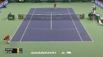 ATP di Shanghai, Federer batte Simon in due set in meno di un minuto