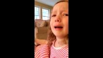 """""""Non incontrerai mai George Washington"""", ecco reazione di una bimba di 4 anni"""
