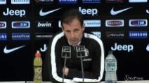 "Modulo Juve, Allegri: ""Avanti col 4-3-1-2"
