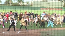 "Halloween, il fantastico Flash mob di ""Thriller"" sul campo di calcio"