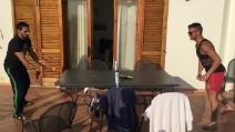 Bianco Lucido Stella Trading Hannah 16722 Tavolino da Salotto Colore