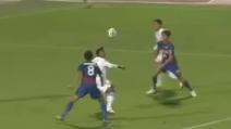 Il gran gol del brasiliano Renato