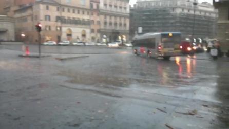 """Roma, il """"Grande Maltempo"""" in città"""