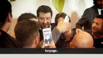 Salvini a Salerno, tra contestazioni, applausi e l'incontro col sindaco De Luca