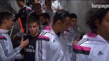 """Cristiano Ronaldo """"ignorato"""" da un giovane della cantera del Real Madrid"""
