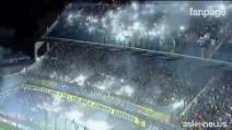Boca Juniors-River Plate, lo spettacolo è tutto sugli spalti de 'La Bombonera'
