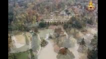 Monza allagata dopo l'alluvione, le immagini dall'alto