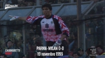 L'esordio in Serie A di Gigi Buffon in Parma-Milan 0-0
