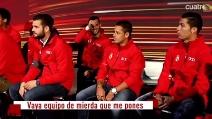 """""""Che squadra di m...."""", Cristiano Ronaldo si arrabbia con i compagni"""