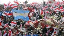 Il River Plate batte il Boca Jrs: ecco come festeggiano i tifosi