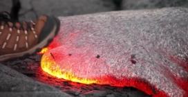 Cosa succede se mettete un piede nella lava?