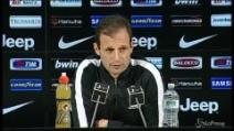 "Juventus, Allegri: ""Atlético? Pensiamo prima al campionato"""
