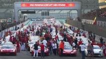 Raduno record di Ferrari ad Abu Dhabi