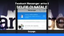 Facebook Messenger: arriva il selfie di natale