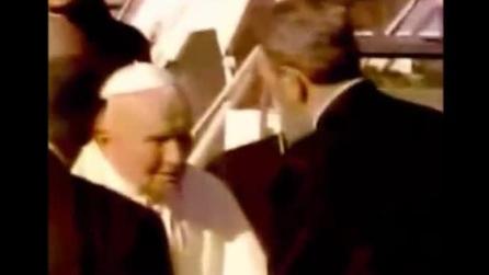 L'incontro tra Giovanni Paolo II e Fidel Castro nel 1998