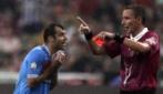 Supercoppa Italiana 2012, l'espulsione di Pandev in Juventus-Napoli