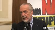 "De Laurentiis: ""Confido in una buona ripresa del Napoli"""