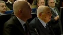 """Napolitano si commuove agli auguri della Cristoforetti: """"Lei è Samantha per tutti"""""""