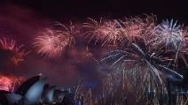 Sydney, il magnifico spettacolo pirotecnico per salutare il 2015
