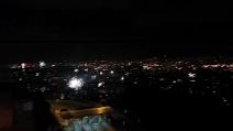 Napoli Capodanno 2015, i fuochi d'artificio in tutta la città