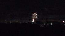 Capodanno 2015 in Filandia: spettacolo di fuochi d'artificio