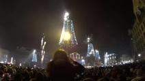 Amsterdam, Capodanno 2015: l'arrivo dell'anno nuovo e lo spettacolo pirotecnico