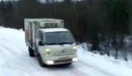 Curve pericolose sulla neve