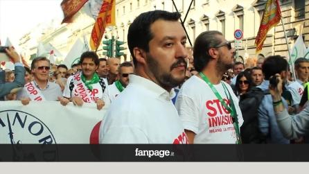 """Charlie Hebdo, Salvini: """"Con il ministro Alfano non siamo al sicuro"""""""