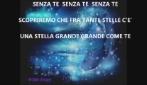 SENZA TE ( Isabel ) musica e testo di Beppe Zicari