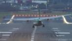 Aeroporto di Birmingham: ecco cosa significa dover atterrare quando c'è vento forte