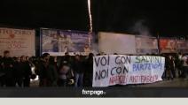 Noi con Salvini: presentazione a Napoli tra le contestazioni